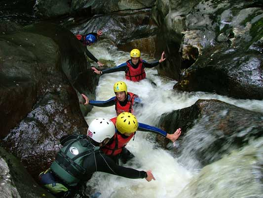The best places to go canyoning in Scotland