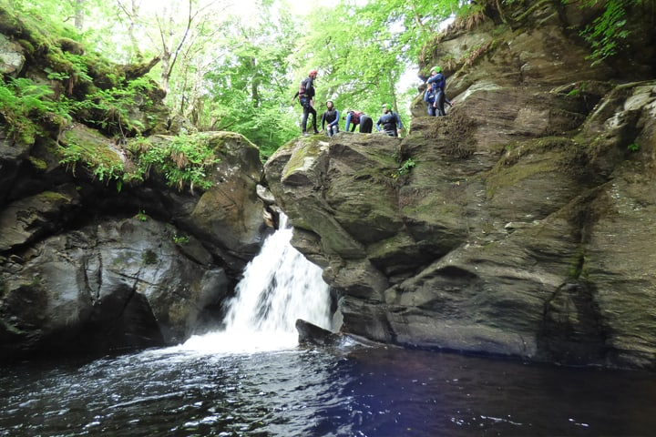 scottish-canyoning