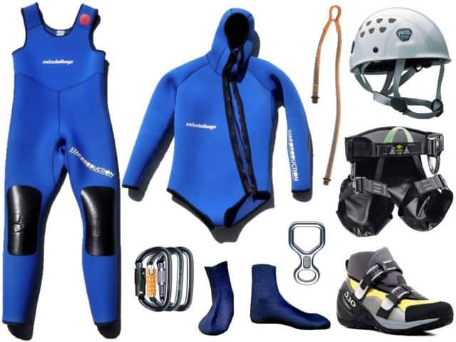canyoning wetsuit