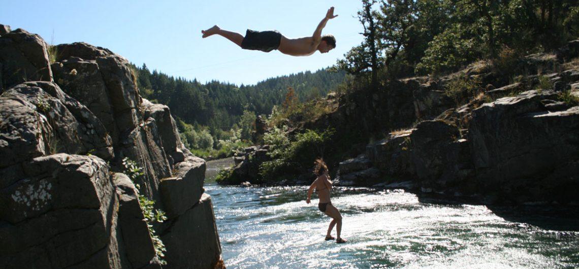 Jumping platform